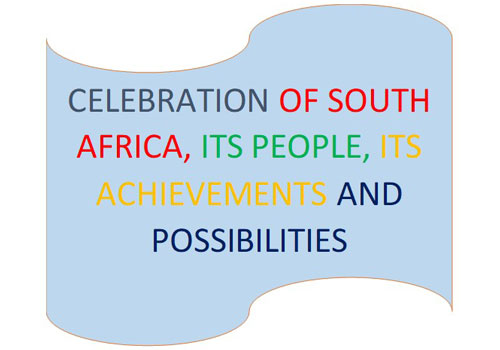 celebrations of south africa - its people - its achievements and possibilities